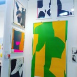 Booth 20 theotherartfairnyc brooklynart collage michaelcutlip abstract theotherartfair