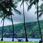 My new happy place Manini beach Sunday picnic michaelcutlip konalivinghellip