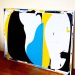 40x60 this commission is getting close! modernart abstractart collage contemporaryarthellip